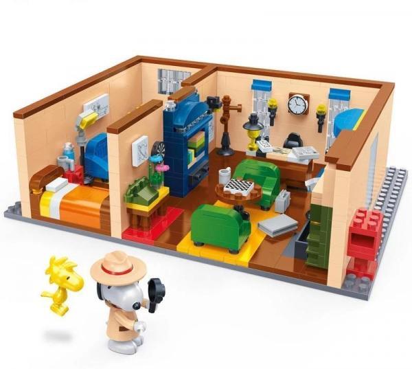 Snoopy Geheimagenten-Wohnzimmer