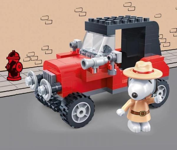 Snoopy Geheimagenten Auto