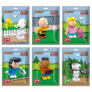 Snoopy Minifigure Set 1 to 6 in foilbag