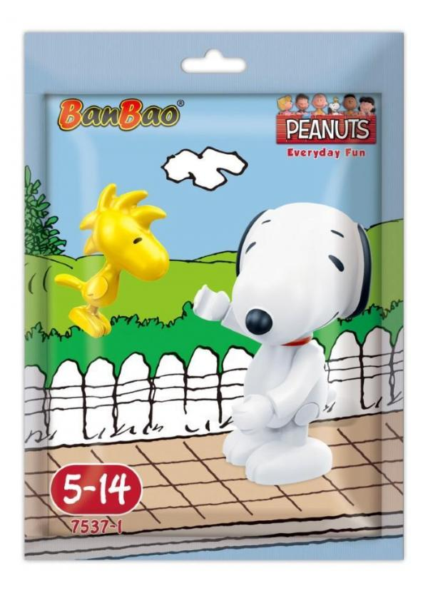Snoopy Minifigur Snoopy mit Woodstock im Folienbeutel