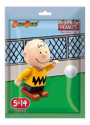 Snoopy minifigure Charlie Brown in foilbag