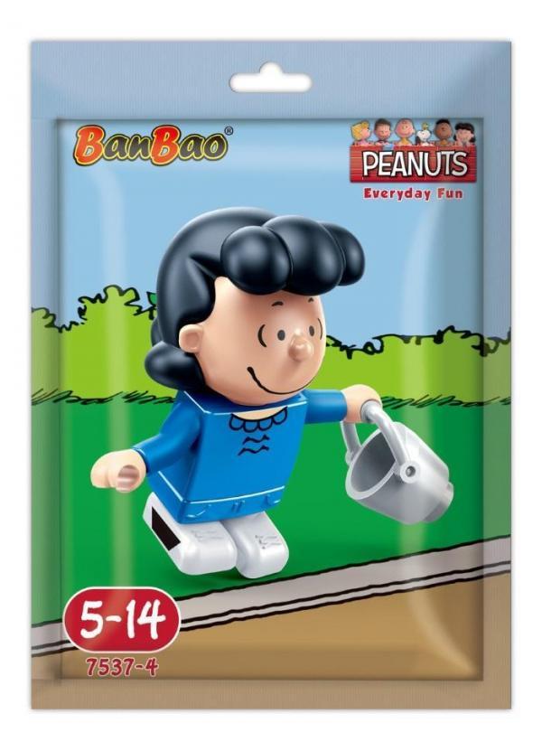 Snoopy minifigure Lucy van Pelt in foilbag