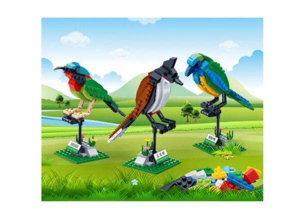 BanBao drei Vögel Set