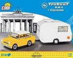 Trabant 601 with Caravan