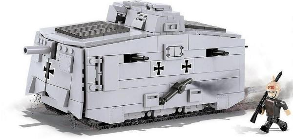 Armoured scout vehicle A7V
