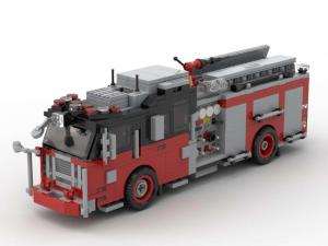 Seagrave Pumper Version 3 Rot/Schwarz