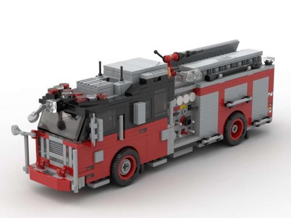 Seagrave Pumper Version 3 red/black