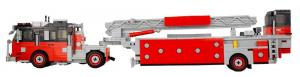 Seagrave Tiller Ladder Rot/Schwarz