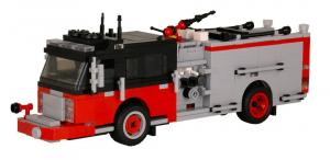 Spartan ERV Pumper Version 3 red/black