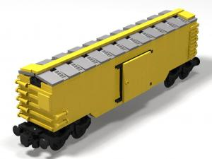 Boxcar 50 ft in yellow