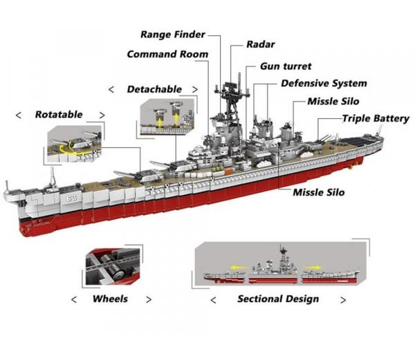 Missouri Battleship