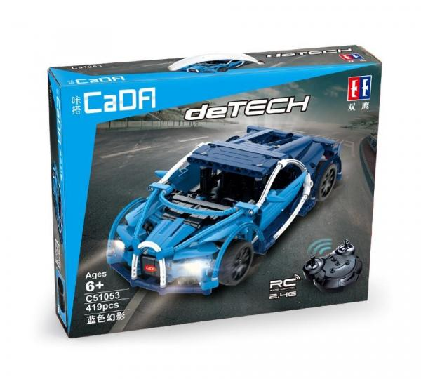 R/C technic blue Roadster 2.4 G
