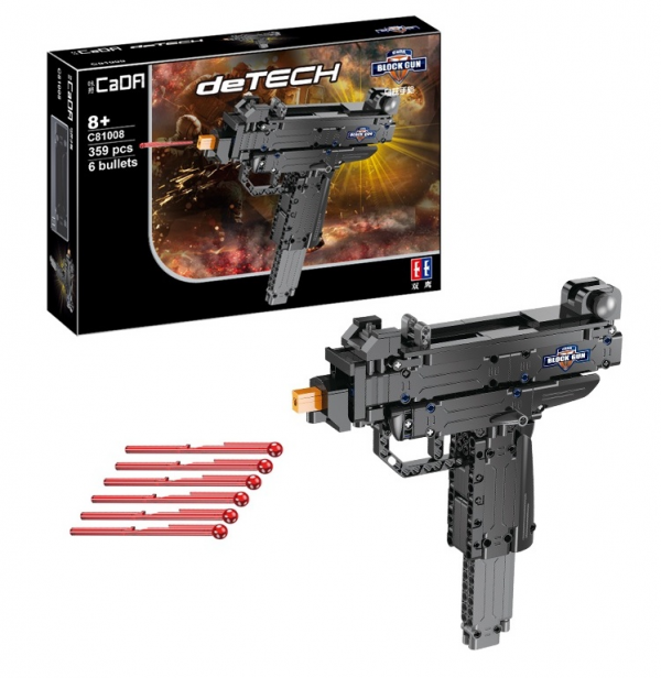 Mini Uzi technic submachine gun