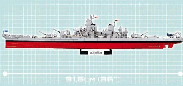 Schlachtschiff 2in1 USS Iowa BB61 und Missouri BB63