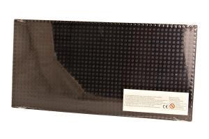 Plate 24x48, black