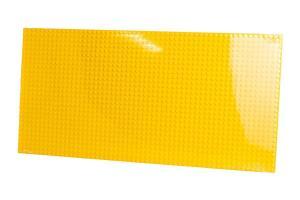 Plate 28x56, yellow