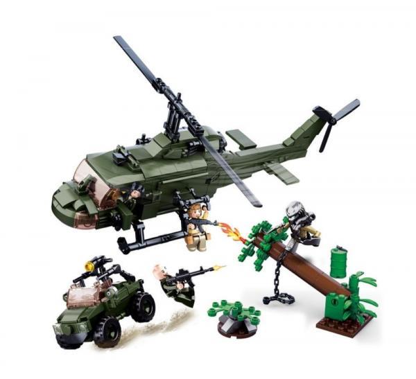 Alien Helicopter-Set in umgepackter Version
