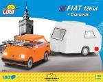 Fiat 126el mit Caravan