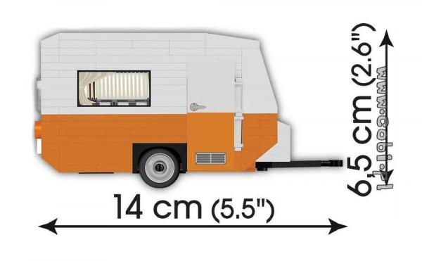 Wartburg 353 with Camper