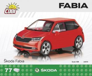 Skoda Fabia, red