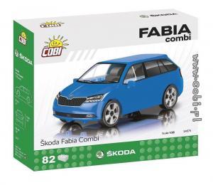 Skoda Fabia Kombi, Blau