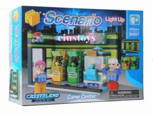 Spielhalle mit Light Up Brick
