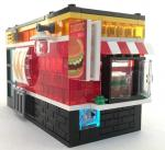 Snack bar with Light Up Brick