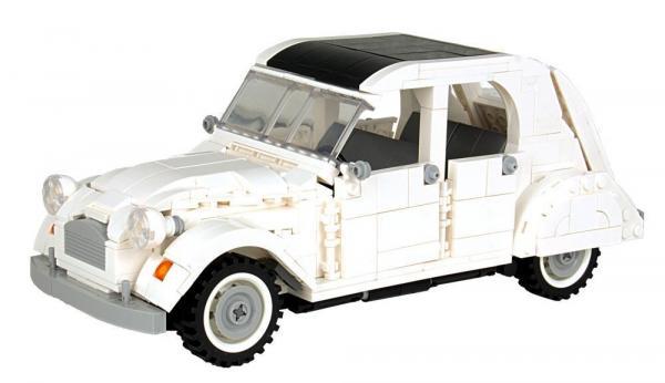 Klassischer Kleinwagen