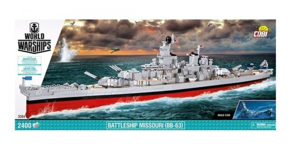 WOWS Battleship Missouri (BB-63)
