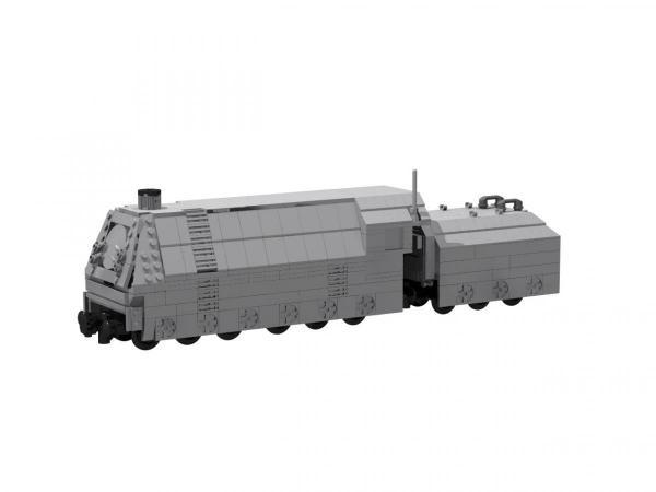 Panzerzug Lokomotive