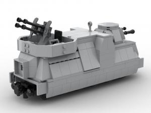 Artillery Armour Train Carriage