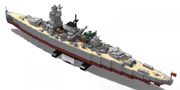 Armour ship Admiral Graf Spee