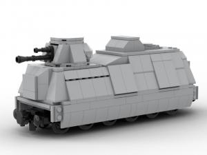 armored train gun car