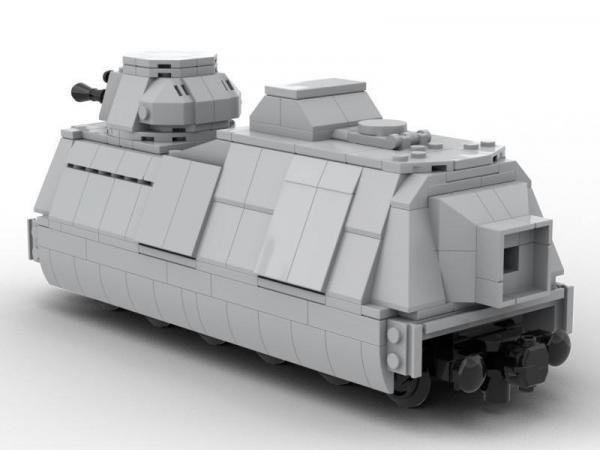 Panzerzug Geschützwagen