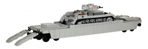 Panzerzug PanzerTragwagen Typ 1