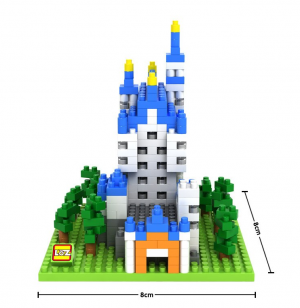 Schloss Neuschwanstein  (Diamond Blocks)
