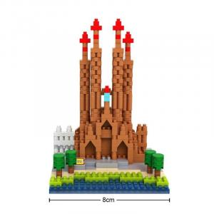 Sagrada Familia (Diamond Blocks)