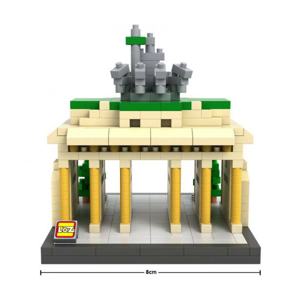 Brandenburg Gate  (Diamond Blocks)