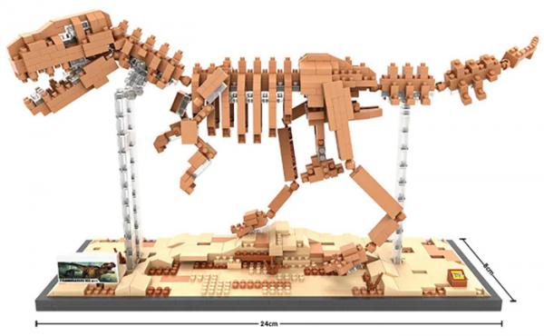 Tyrannosaurus Rex  big version (Diamond Blocks)