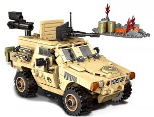 Armoured troop transporter