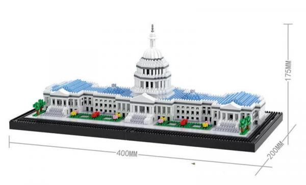 US Capitol (diamond blocks)