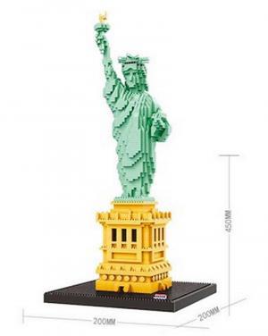 Statue of Liberty (diamond blocks)