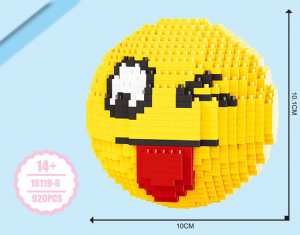 Emoji Tongue (diamond blocks)