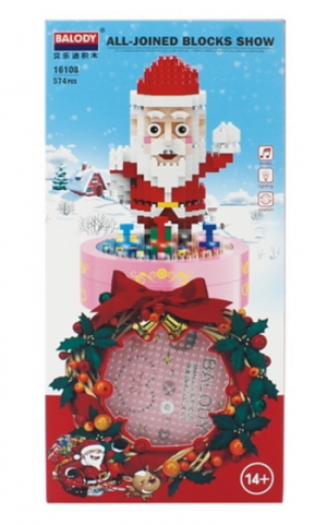 Santa Claus (diamond blocks)