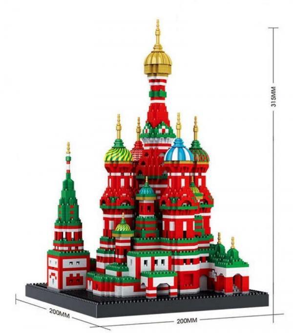 Basilius Cathedral (diamond blocks)