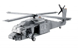 Military Helicopter UH-60 Black Hawk
