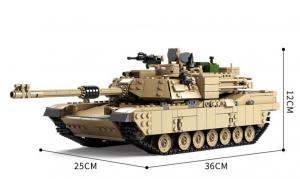 Military Battle Tank 2in1
