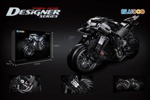 The Predator Motorcycle in black