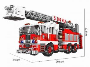 Fire Truck with turntable ladder