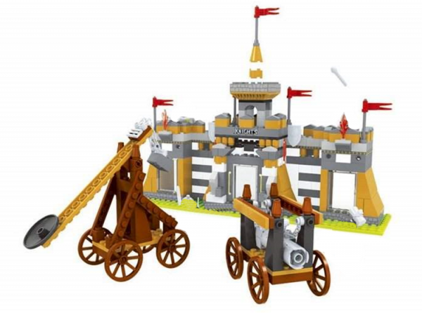 Roman Fortress Castle Siege under Attack